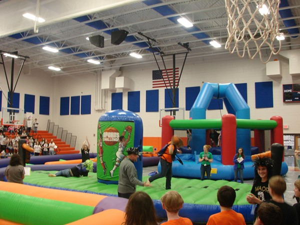 Inflatables in the gym