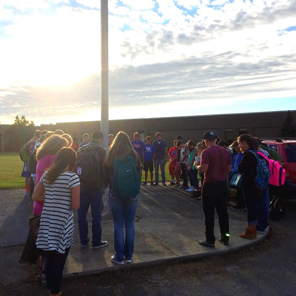 Students See You At the Pole